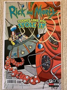 Rick And Morty #1 Nerd Block Variant - Much Rarer than Justin Roiland- Recalled!