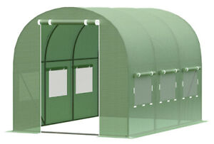Greenhouse garden 2x3 foiling plant house polytunnel