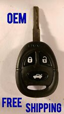CLEAN OEM SAAB KEY KEYLESS ENTRY REMOTE CONTROL KEYFOB TRANSMITTER KHH 20TN-1