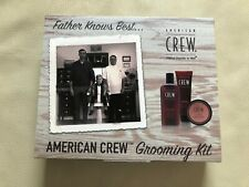 American Crew Grooming Gift Set - Shampoo - Styling Gel - Pomade - Travel Size