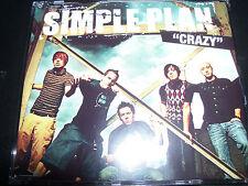 Simple Plan Crazy Australian 4 Track CD Single