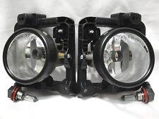 For 09 10 TSX Foglight GLASS Fog Light Lamp Die-cast METAL Body W/Bulbs RL H New