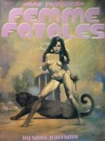 One Hundred Femme Fatales TPB Fantasy Sketch Art Book by Mike Hoffman