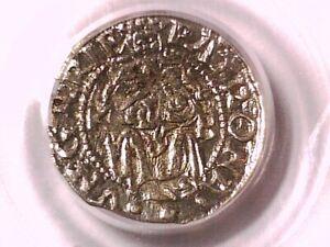 1555 - KB Denar PCGS Genuine Hungary 19566023