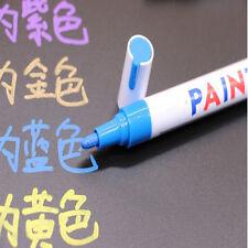 Refit Waterproof Permanent Paint Marker Pen Tire Tread Rubber For Universal Car