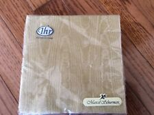 IHR Paper luncheon Napkins moire GOLD 20ct 50th Anniversary Wedding