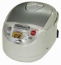 TIGER JBA-T18W(C) Rice Cooker 10 Cup 220V Beige Free Ship w/Tracking# New Japan