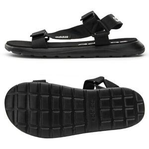 Adidas Comfort Sandals Slides Flip-Flops Slipper Black EG6514