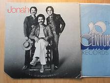 Jonah LP: Jonah (t-456, 1974, 20th Century Records)