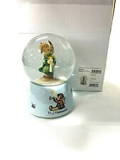 """hummel water globe heavenly angel with song """"oh christmas tree"""" not cloudy new!"""