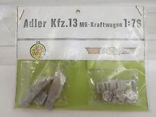 MES-51273Reko/Rettkowsky 1:76 Adler Kfz.13 MG-Kraftwagen Metall Bausatz