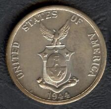 1944-S US Administration Philippines 50 CENTAVOS Commonwealth Silver Coin #1