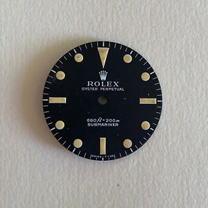 Rolex 5513 feet first non serif dial with patina