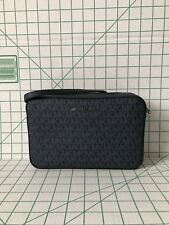 NWT Michael Kors Jet Set Large Crossbody Navy Signature PVC Navy Bag