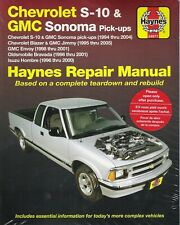 1994-2005 S10 Sonoma Blazer Jimmy 4x4 Envoy Haynes Repair Shop Manual Book 3270