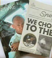 NEW RARE Omega Lifetime Magazine & Newspaper 40th Speedmaster Issue 4 Moon Ed.