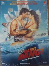 BANG BANG (2014) HRITHIK ROSHAN, KATRINA KAIF - BOLLYWOOD MOVIE DVD