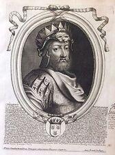 Childeric I er Roi de France par Nicolas II de Larmessin C 1686