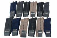 Z-Man Collection Men's Patterned 12-Pair Dress Crew Socks Sz: 10-13 Fits 7-12