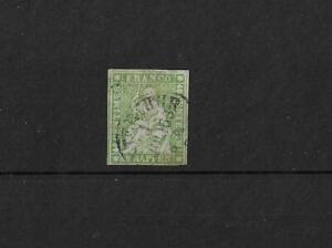 (6) Switzerland 1854-62 40 Rappen green fine used