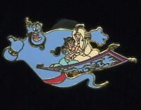 ACME Hot Art Magic Carpet Ride Genie Aladdin Jasmine Magic Carpet LE Disney Pin