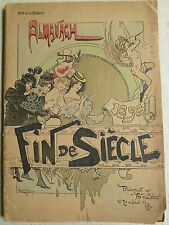 Arte, almanaque Fin de siecle, parís 1900, Jugendstil,
