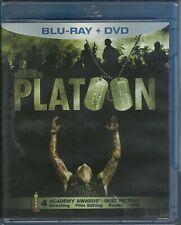 Platoon (Blu-ray / Dvd, 2011, 2-Disc Set) Tom Berenger, Charlie Sheen