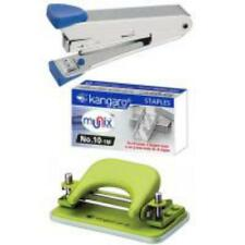 Kangaro  Stapler, pins  and DP-52 Paper Punching Machine combo
