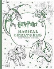 Adult Coloring Book Harry Potter Magical Creatures. New