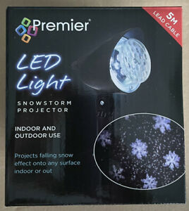 Led Light Snowstorm Projector