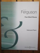 4 Short Pieces for Viola & Piano by Ferguson *NEW* Publisher B & H