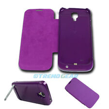 3500MAH EXTERNAL BACKUP BATTERY POWER CASE COVER PURPLE SAMSUNG GALAXY S4 S IV