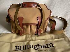Billingham 225 Camera / DSLR Bag in Khaki with Tan Trim (UK) Used For 1 Week.