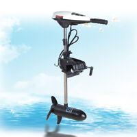 Hangkai Outboard Machine Brush Trolling Motor Short Shaft Boat Engine 660W USA