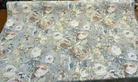 Swavelle Vintage Bodri Floral Pastel Chenille Upholstery Fabric By The Yard