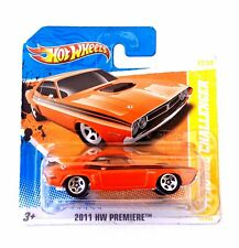 Hot Wheels 1/64 3 inch '71 Dodge Challenger RT '11 Premiere