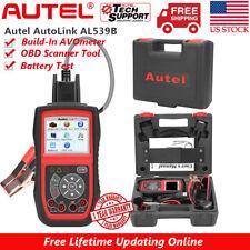 Autel AL539B OBD2 Scanner Code Reader Battery Circuit Test Car Diagnostic Tool