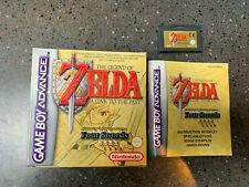 Zelda a link to the Past en Caja e Instrucciones (Nintendo Game Boy Advance 2003)
