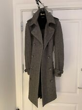 Dolce & Gabanna Wool Trench Coat . SIZE 44