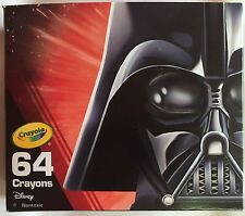 Crayola Star Wars Crayons 64 Pack Star Wars Darth Vader Collectible BRAND NEW