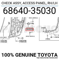TOYOTA Genuine 67872-35074 Access Panel Weatherstrip