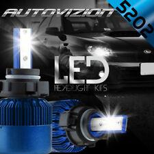 5202 2504 PSX24W LED Headlight Fog Lights HID 6000K Conversion Kit 388W 38800LM