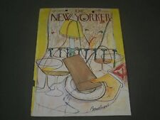 1948 JANUARY 3 NEW YORKER MAGAZINE FRONT COVER ONLY - GREAT ILLUSTRATED ART