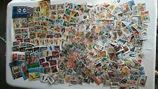 Lot de timbres d afrique
