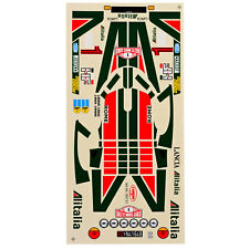 Decal Sheets 1:10 Lancia Stratos Alitalia Rally Monte Carlo 1977 Munari Maiga #
