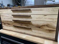 Machinist Tool Chest Solid Wood Walnut Hickory Poplar Handmade