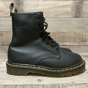 Doc Martens Dr Martens 1460 Combat Boots Smooth Size 4 Mens Size 5 WMNS AW612