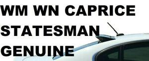 Genuine Holden Roof Spoiler Rear Window Visor Sunshade WM WN Statesman Caprice