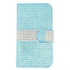 Étuis, housses et coques avec clip bleu métallique pour téléphone mobile et assistant personnel (PDA)