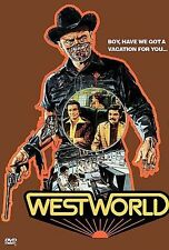 Westworld DVD Michael Crichton
